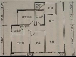 世�o花城103平米��嗜�室��d�尚l清水51.8�f
