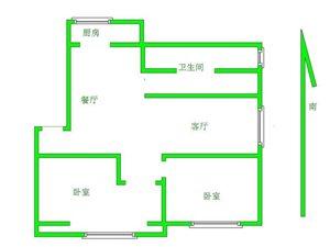 明珠 13楼 2~室 2厅 1卫67万元