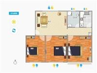 阳光花园3室 2厅 1卫80万元