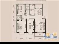 大产权丹桂园3号楼22层南北通125.66平,3室 2厅 2卫
