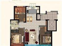 ?98平超大面积,一手房手续,3室朝南仅售55万