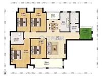 中南锦城4室 2厅 2卫215万元