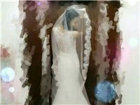 婚纱,全新,全新。购入时一共两千多,现在一千转让了