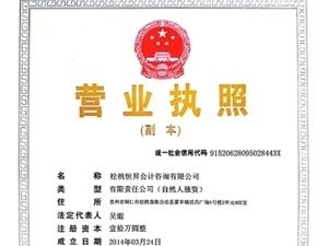 松桃专业财务会计公司18585602013