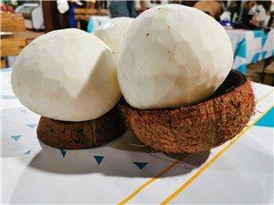 批发削好的毛椰鲜榨果汁可以看过,批发毛椰