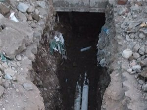 下水管改造。疏通维修。上下水。