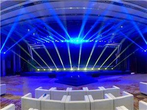 儋州專業舞臺搭建燈光音響出租桁架LED大屏出租