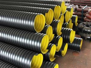 洛陽DN300HDPE鋼帶增強波紋管總代理