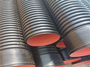 洛陽大口徑HDPE雙壁波紋管廠家直銷