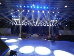 琼海专业舞台灯光音响桁架LED屏幕出租