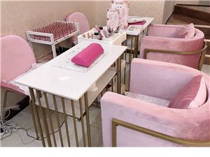 化妆美甲店美甲桌椅出售