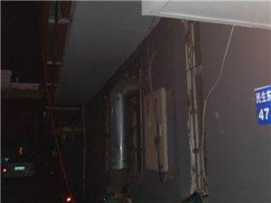 小区内楼上充电线下楼危机谁管?解决吗?