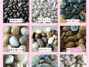 江西萍鄉炫彩雨花石 黑色鵝卵石 白色石子廠價批發