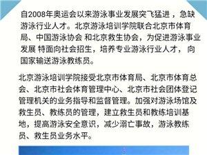 北京游泳学院培训机构