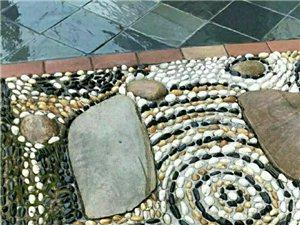 南昌園林鵝卵石 彩色水洗石米 石英砂 石桌批發零售