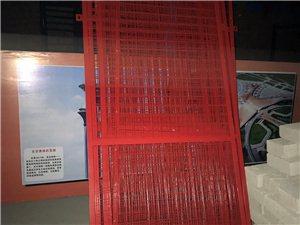 珠海建筑工地樓層升降梯安全門 上落人貨梯安全防護