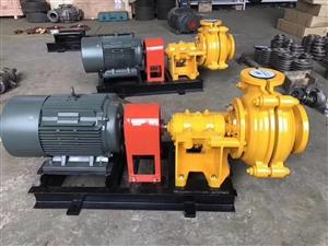 4/3-AH渣漿泵輪式洗沙機專用泵