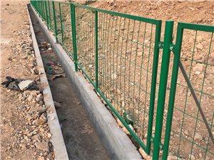 綠色邊框護欄網 市政護欄網 道路綠化帶隔離柵欄