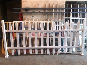 鶴山PVC塑鋼護欄柵欄草坪欄桿院子白色塑鋼裝飾圍欄