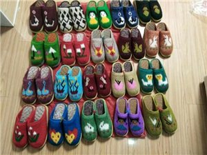 出售自制手工拖鞋
