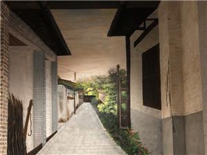 彩绘,墙绘,手绘,文化墙,壁画,油画,涂鸦