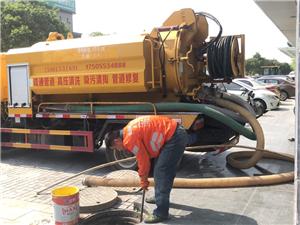 高压清洗疏通管道,清理化粪池
