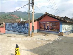 海南三亚历史文化墙手绘,墙体彩绘,建筑彩绘