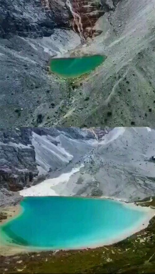 四川甘孜州5000海拔的稻城亚丁