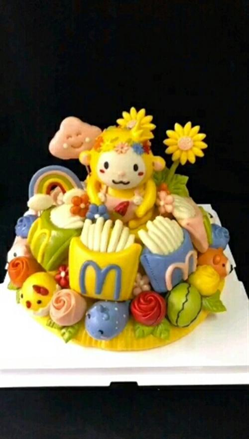 ✔️生日花馍🍒🍒小猴子可爱