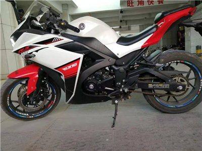 出售摩托车赛车一辆准新车2000公里双杠水冷400cc有限速没解到车记录一次没摔过可办分期有意者联系我17615012442