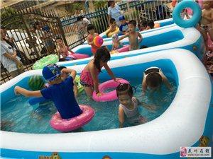"""【嘉瑞新闻】""""龙凤戏水""""嘉瑞蒙台梭利幼儿园游泳活动圆满结束!!!"""