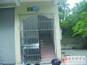 """茂名市春苑一街公厕""""铁将军""""不再把守大门"""