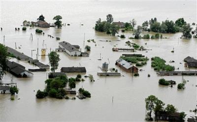 面��洪水,如何防范�c自救
