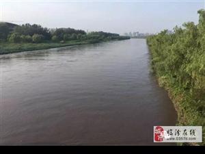 临汾境内三条大河发大水实景图:黄河、汾河、沁河!