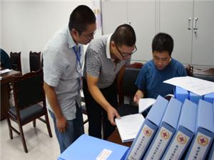 四川省红十字会来盐视察生命健康安全教育项目工作
