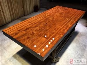 实木大板 红木家具 中式风格家居