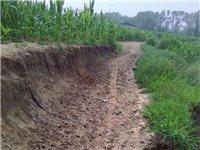 白庙子村下子屯道路年久失修,这几天下雨,已经完全被冲毁