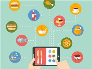 网络餐饮增长两倍