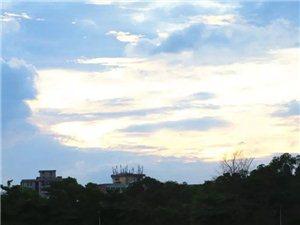 原来茂名这么美!夕阳辉映小东江!