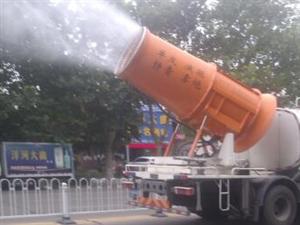 兖州正在工作的喷雾净化空气环境车