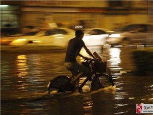 化州京广南路逢雨必水浸,城管局将出手治理