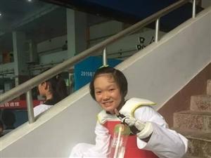 泸州市15岁跆拳道小将周航宇获全国跆拳道青年锦标赛46公斤级亚军