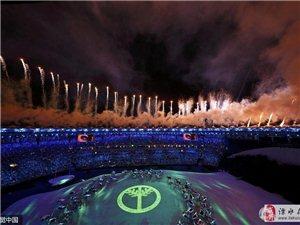 里约奥运会开幕式 现场演视觉饕餮盛宴