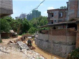 信宜六谢:村民强占河道建路  多次反映遭无视