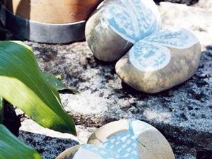 鹅卵石的家居创意装饰