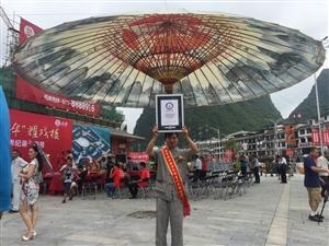 泸州直径16米高10米油纸伞