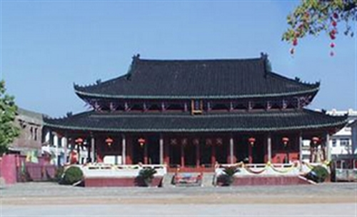 千年古镇――佗城航拍照片