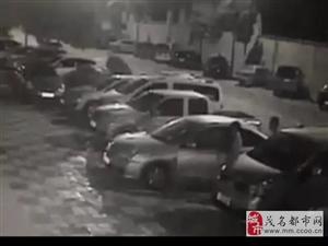 茂名的东风日产车主请注意,近期已发生多辆被盗事件