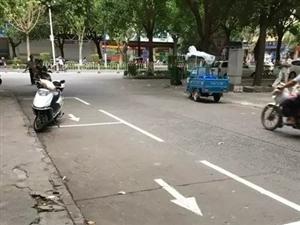 茂名网友曝光:市区新规划车位又被抢占了