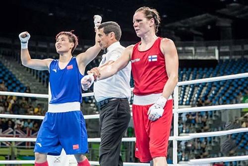 唐山拳手尹军花挺进奥运女子57-60公斤级拳击决赛
